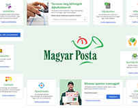 Magyar Posta: Web Applications UI Kit