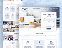 The W Home Group Website Redesign
