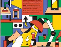 bokvennen litterær avis cover