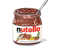 World Nutella Day illustration