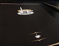 Café logo + menu design