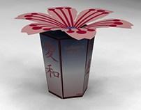 Embalagem para balas de Sakura Moti