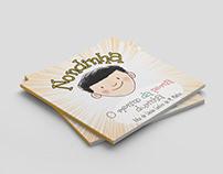 Ilustração e diagramação - livro Nondinha