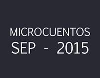 Microcuentos Septiembre 2015