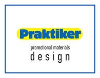 Praktiker promotional materials