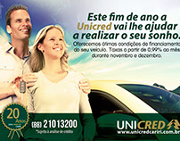 Unicred Campanha de Financiamento