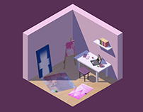 Room | Low Poly