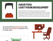 Have you lost your Software Developer- Read Infographic