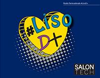 Rótulo #LisoD+