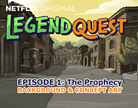Legend quest backgrounds and concept art. EPISODE 1