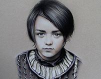 Arya  Fan-Art