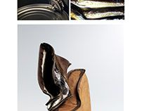 CANNED FISH High-soled shoes