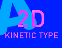 2D Kinetic Typography