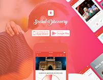 Social Discovery app