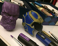Painted Big and Little THANOS