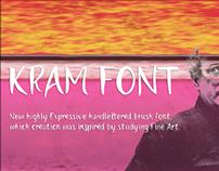 kraM font