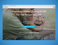Island Care - Landing Page