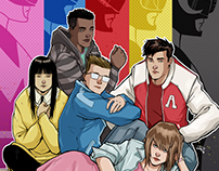 Mighty Morphin Power Rangers Covers