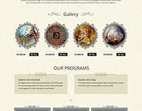 Islamic Arts Society - Web Portal