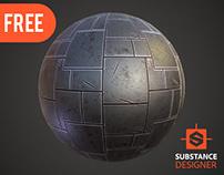 Stylized Metal Plates | Free Download