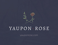 Yaupon&Rose Business Cards