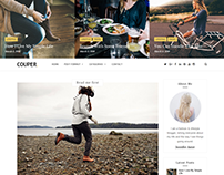 Couper - Responsive Personal Blog Theme