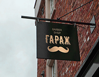 Identity for barber shop