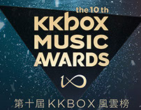 The 10th KKBOX MUSIC AWARD motion graphic