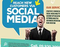 Social Media Marketing Flyers