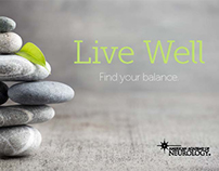 "Live Well Branding – ""Find Your Balance"""
