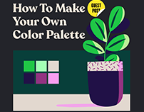 How To Make Your Own Color Palette