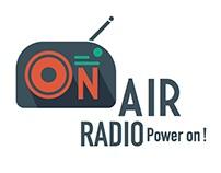 On Air Radio Kinetic Identity