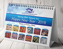 Desk Calendar 2018 Design