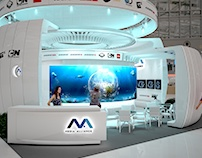 """Exhibition stand for """"DISCOVERY"""" 2016"""