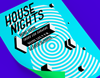 House Nights | Ad. Material