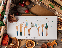 """""""Hands"""" Greeting Cards - Christmas Edition"""
