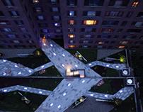 Courtyard Glow