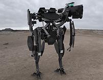 Modular Bipedal Tank / 憲兵用模塊化載具