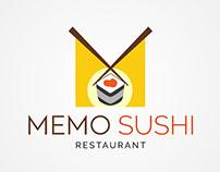 MEMO SUSHI Restaurant LOGO