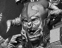 Fighting Uruk hai