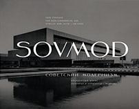 SovMod Typeface   Шрифт СовМод