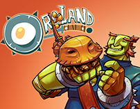 ORCLAND - Catapult Full Comic by Juan Calle