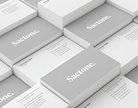 Sactone. | Branding
