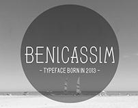 Typeface Benicassim
