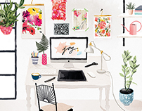 My working space-personal work