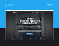 Redesign website of SafeCrow