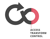 Acess, control, transform: Logo and branding