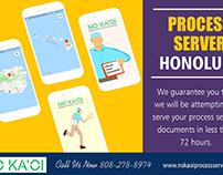 Process Server Honolulu