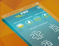 EWE Smart Home // UX // Concept