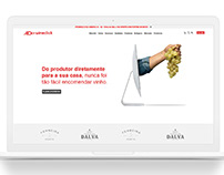 Redesign WEBSITE para Wineclick - online wine shop